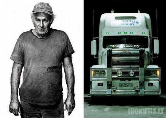 Sunkvežimių vairuotojai