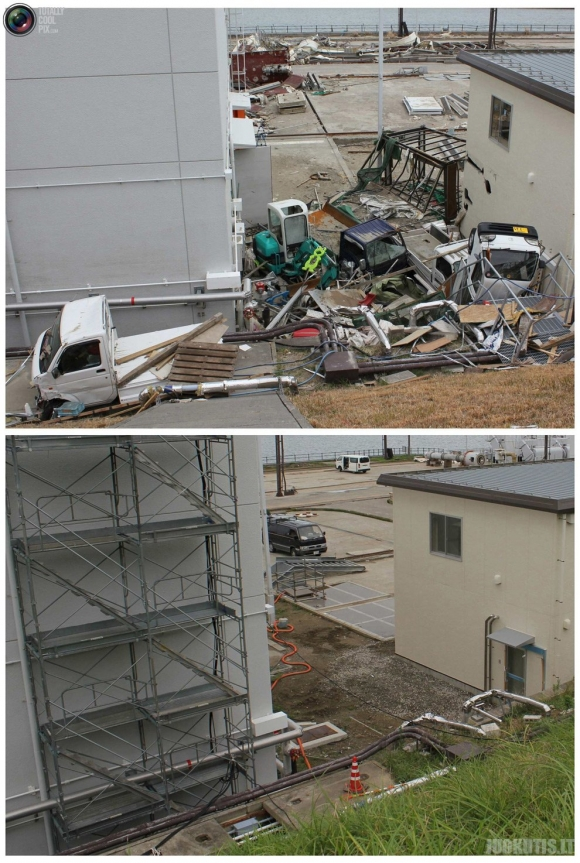 Katastrofa Japonijoje tada ir praėjus pusmečiui