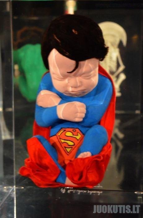 Super herojų embrionai