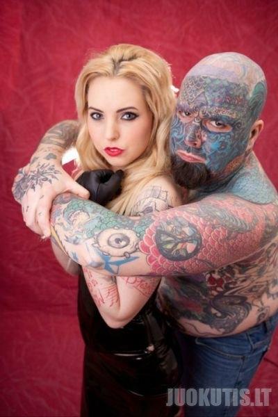 Dar vienas tatuiruočių manjakas