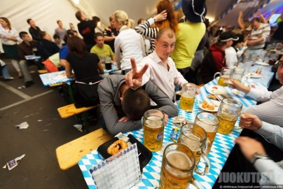 Oktoberfest ukrainietiškai