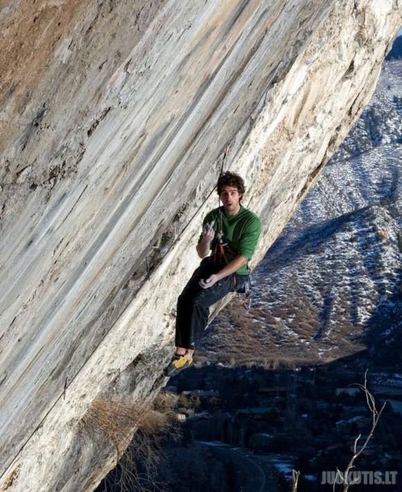 Alpinizmas - ne silpnos valios žmonėms