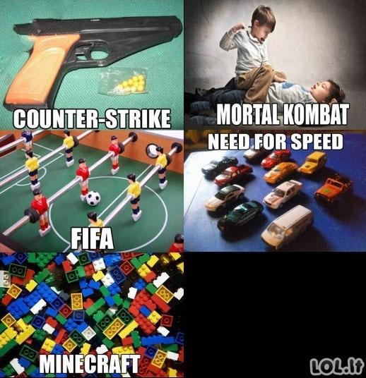 Mano vaikystės žaidimai