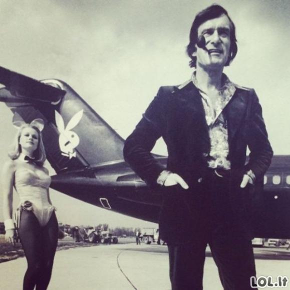 Nuostabus Hugh Hefner gyvenimas