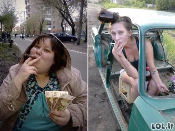 Nuotraukos iš rusiško Facebook'o