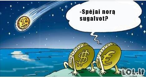 Ką daryti, kai krenta rublis?