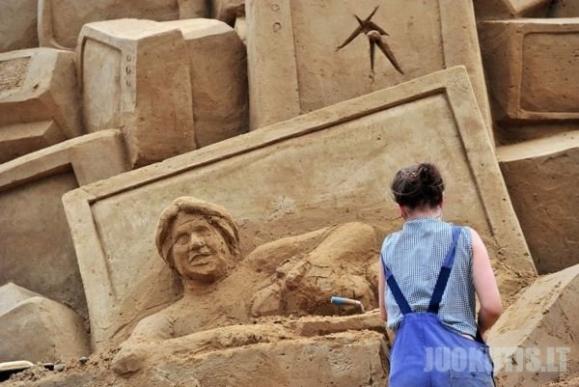 Smėlio skulptūros