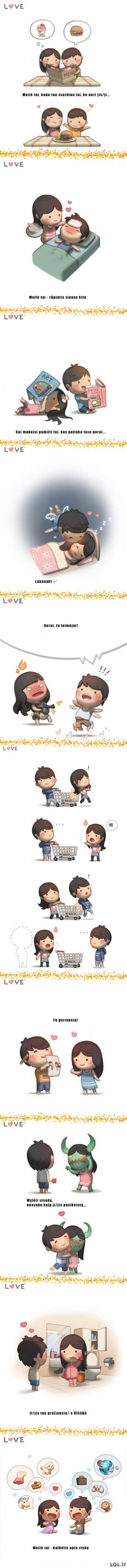 Trumpai kas yra meilė