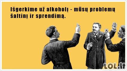 Alkoholikų tostas
