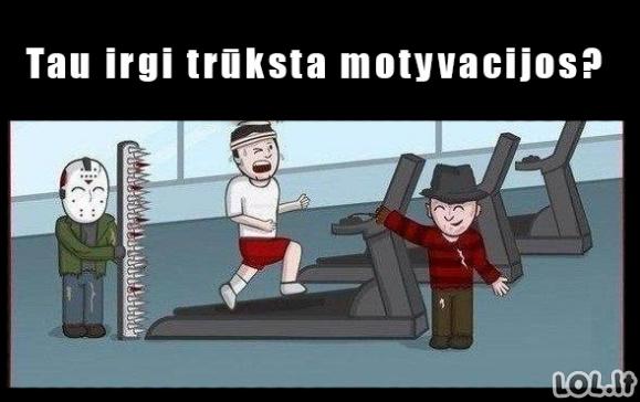 Geriausia motyvacija sportuot