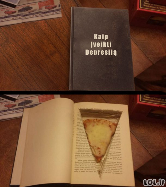 Ideali antidepresinė knyga