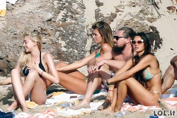 Eilinė fantastiška Leonardo Di Caprio diena