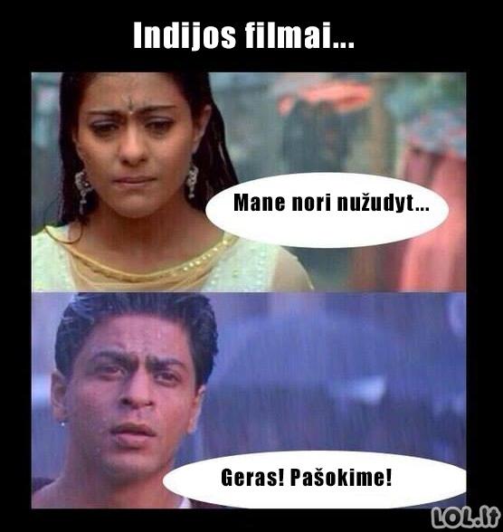 Indų kino logika