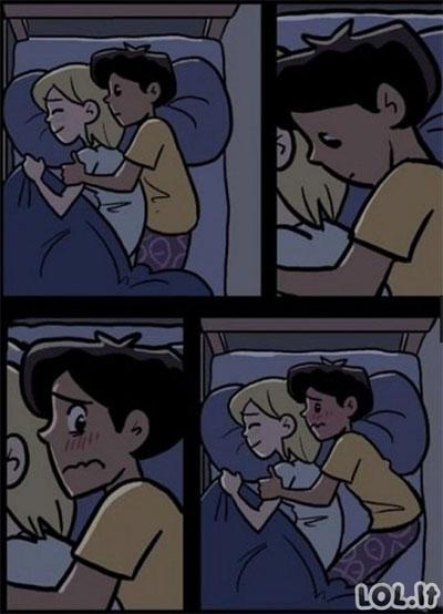 Pirma naktis kartu