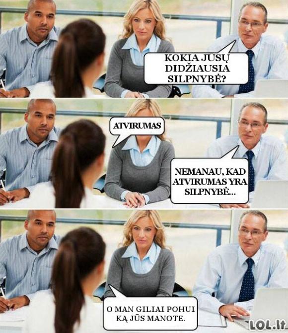 Blogiausia darbuotojo savybė