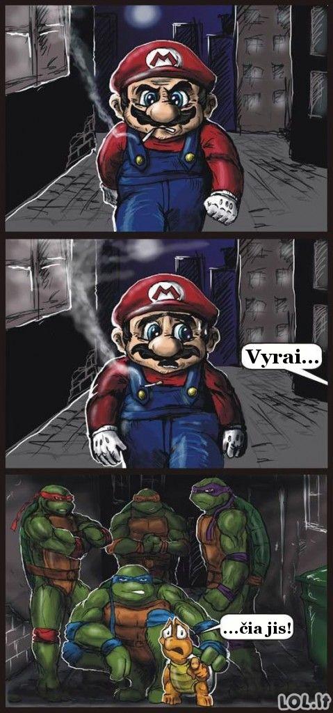 Kerštas Mario už visas skriaudas