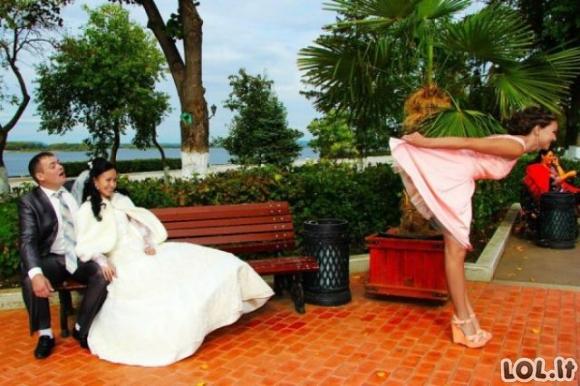 Rusiškos vestuvių akimirkos