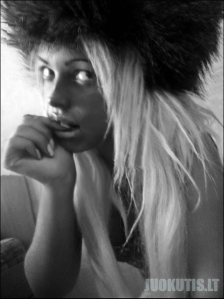 Graži mergaitė Vlada