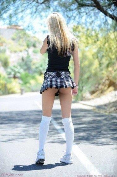 Oi, tie mini sijonai!