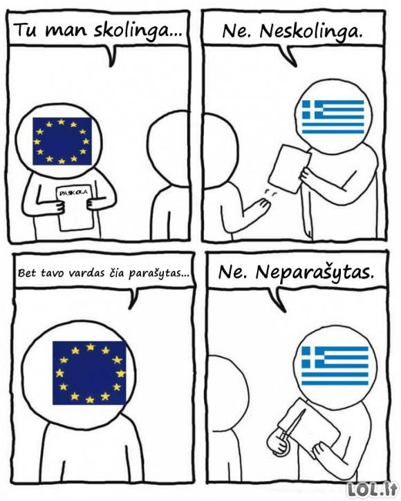 Kaip šiandien atrodo Graikija iš šalies