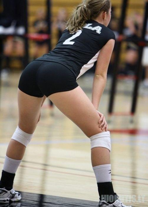 Štai tokios merginos žaidžia tinklinį (19 nuotraukų)