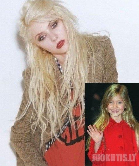 Įžymybės jaunystėje ir dabar (24 nuotraukos)