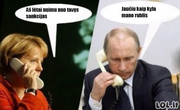 Merkel ir Putino santykiai