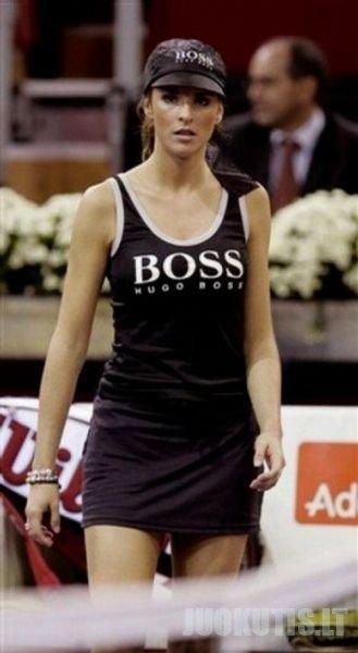 Merginos iš teniso (36 nuotraukos)