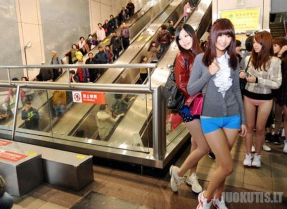 Be kelnių metro - Taivanas