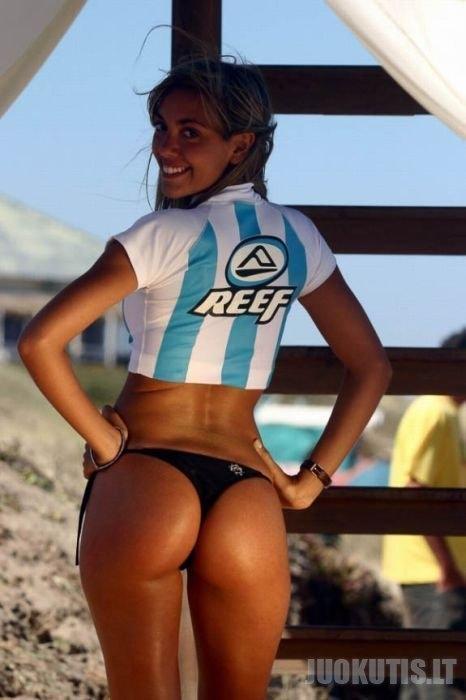 Miss Reef - užpakaliukų konkursas