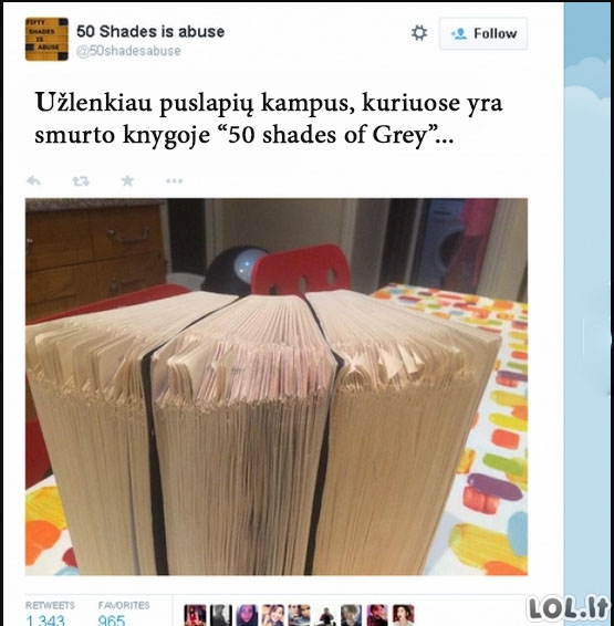 50 shades of Grey logika