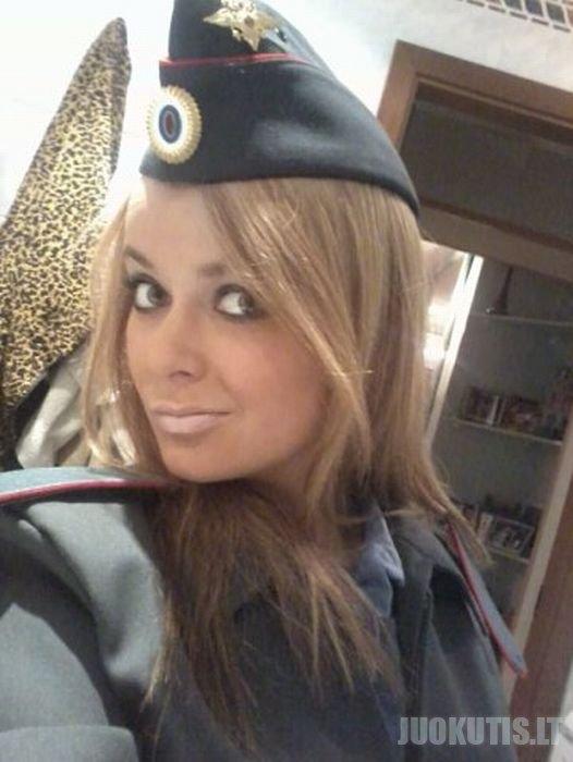 Simpatiškiausia Rusijos policininkė