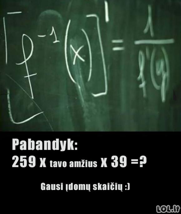 Matematikos magija