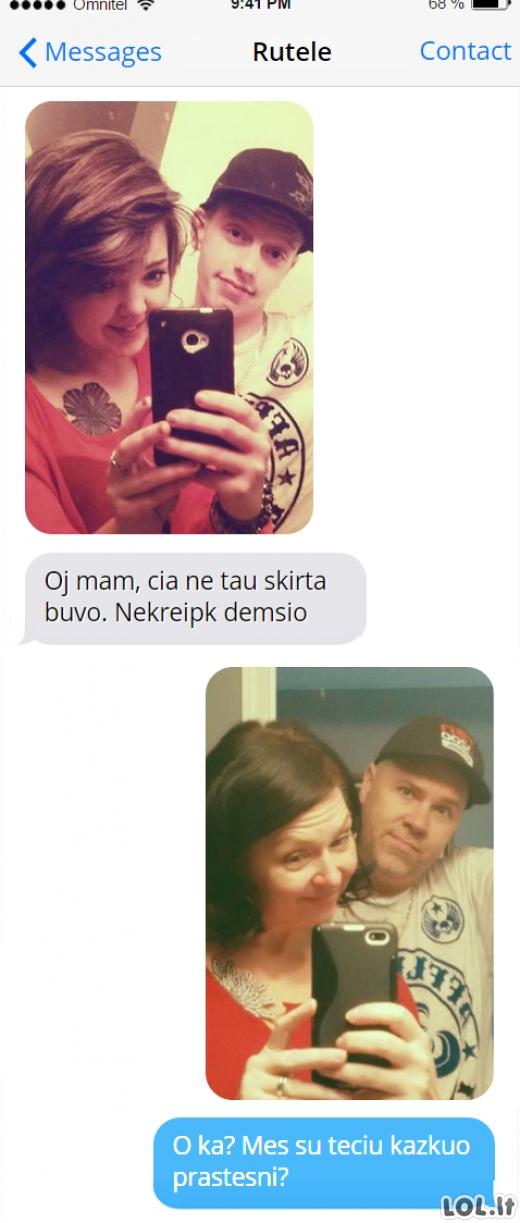 Tėvai - geriausi troliai