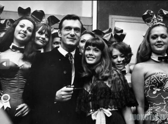 Playboy zuikučiai prieš 50 metų ir dabar