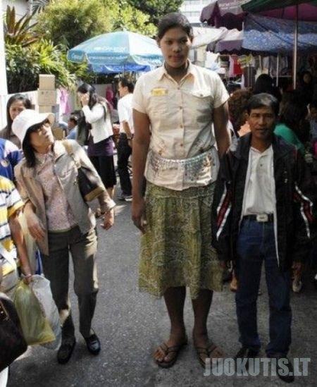 Aukščiausia pasaulio mergina