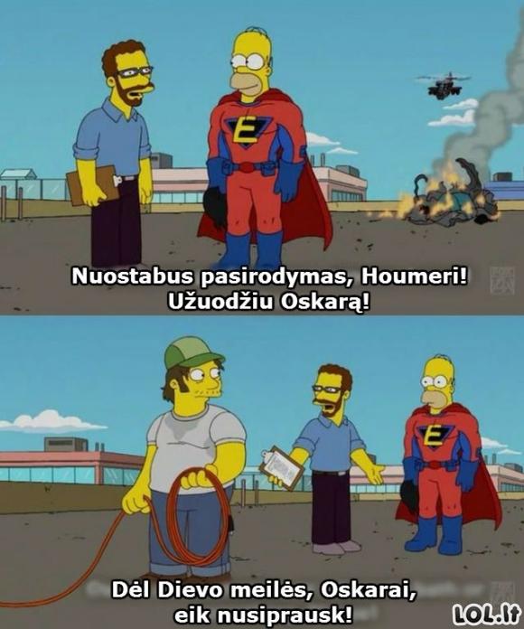 Houmeris ir Oskaras