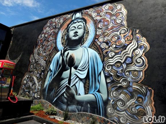 Žadą atimantys gatvės meno kūriniai