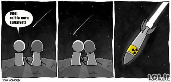 Krentančios žvaigždės