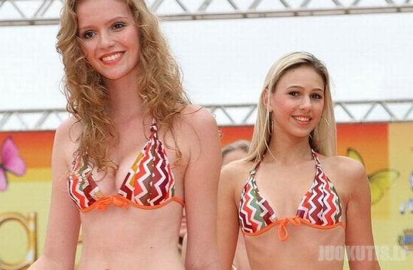 Brazilijoje įvyko grožio konkursas «Garota Verao»