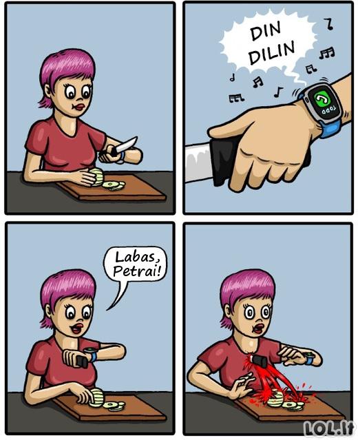 Kodėl išmanieji laikrodžiai yra nesąmonė?