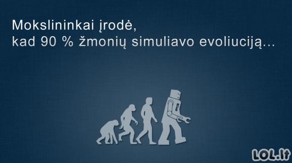Baisi evoliucijos statistika