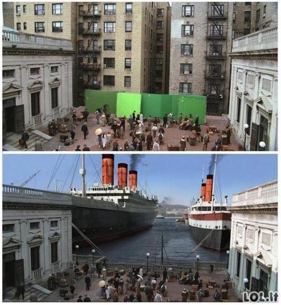Kaip buvo filmuojami garsiausi kino filmai
