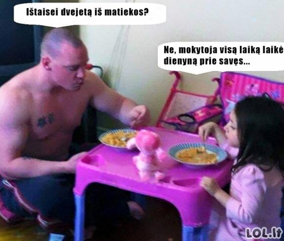 Tėviškas auklėjimas
