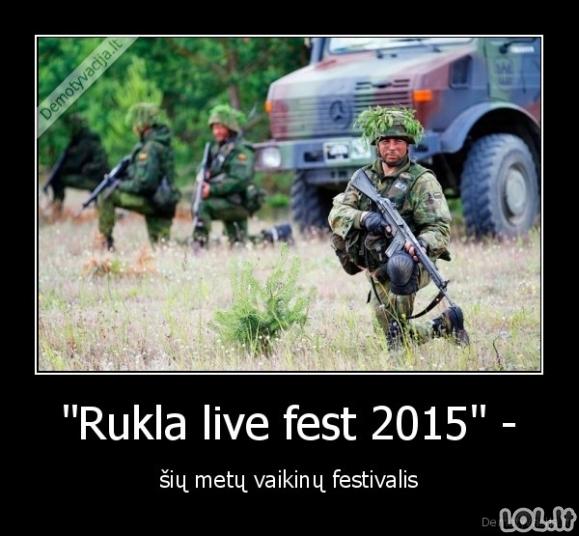 Šios vasaros festivalis