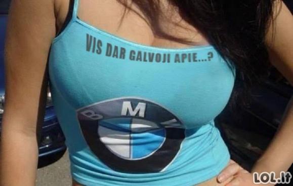 Geriau, nei BMW
