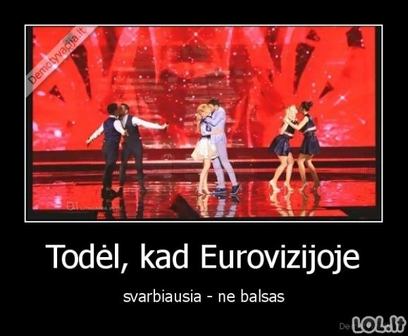 Eurovizijos principai