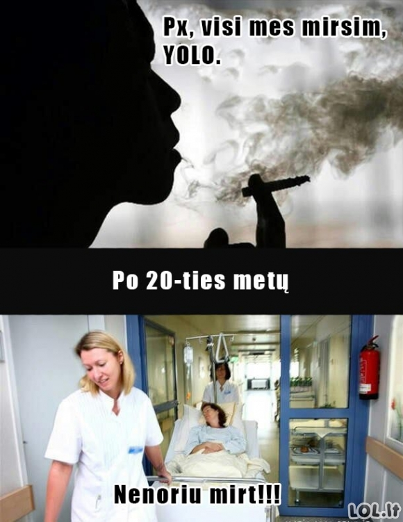 Rūkalių gyvenimas