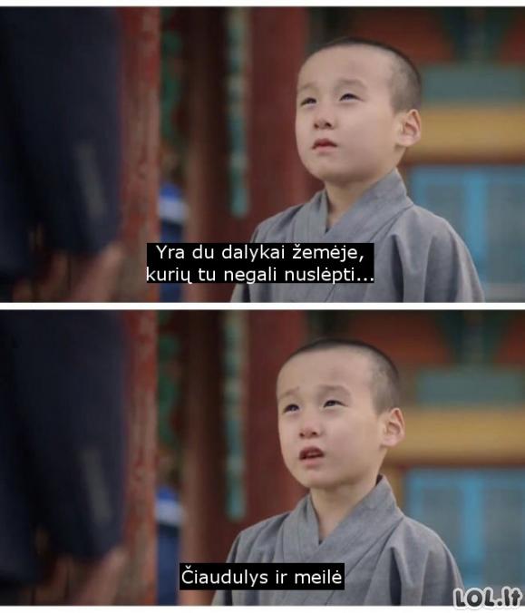 Vaikiška tiesa apie meilę