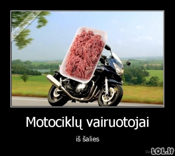 Motociklistų įvaizdis